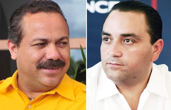 Acusan PRD y PAN a Gobernador por desestabilizar a municipios; Ricalde denunciará a Borge por uso indebido de la policía