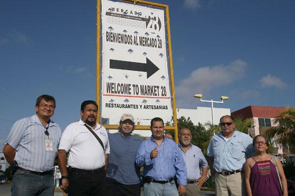 Planea comuna dotar al Mercado 28 de un andador turístico con mejora de imagen y seguridad