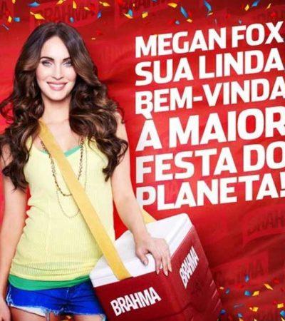 Megan Fox venderá cervezas en Brasil en el Carnaval de Río