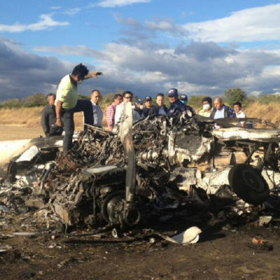 OTRO ACCIDENTE AÉREO: Cae avioneta en aeropuerto de Tuxtla Gutiérrez: 8 muertos