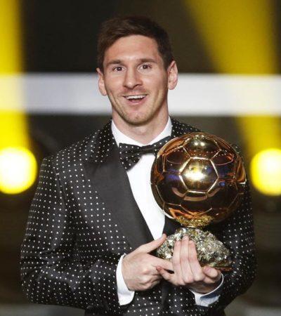 Es Messi el mejor del 2012: Supera a Ronaldo e Iniesta y gana su cuarto Balón de Oro consecutivo; Del Bosque, el mejor entrenador