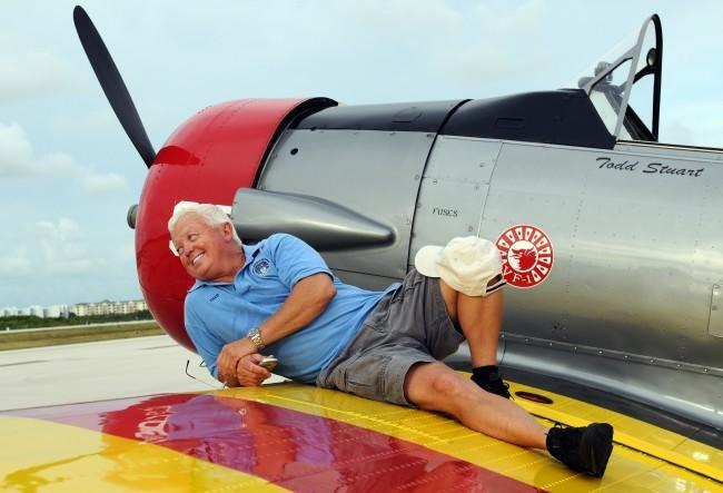 Fred Cabanas, piloto experto con más de 24 mil horas de vuelo