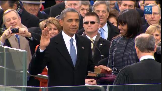Inicia segundo mandato de Obama