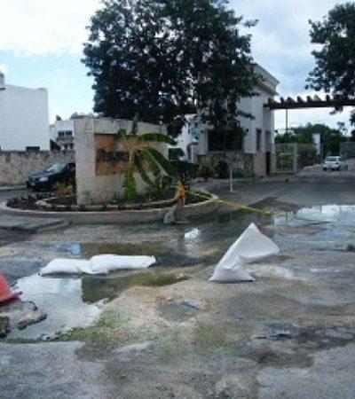 Amagan vecinos de Xcalacoco con demandas penales por fallas en planta de tratamiento de SARE