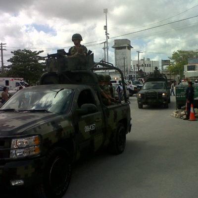 Cuatro reos heridos por una riña en la cárcel de Cancún no reportada por autoridades