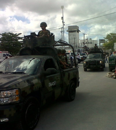 RIÑA EN LA CÁRCEL DE CANCÚN: Saldo de 32 heridos por enfrentamiento entre reos; disparos y un fuerte despliegue policiaco para controlar el violento zafarrancho