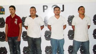 Consignan a 4 sicarios vinculados a ola de 'levantones' y ejecuciones recientes en Cancún