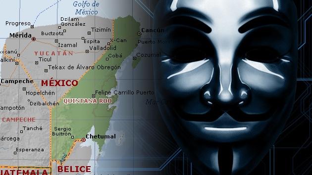 Ponen en marcha #OpDragon: Ataca 'Anonymous' sitio del Gobierno de QR en rechazo al 'Dragon Mart'