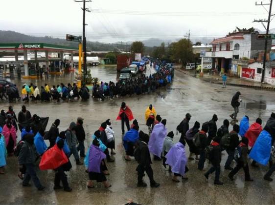 Se meterá Peña a territorio zapatista para lanzar una 'cruzada nacional contra el hambre' desde Las Margaritas