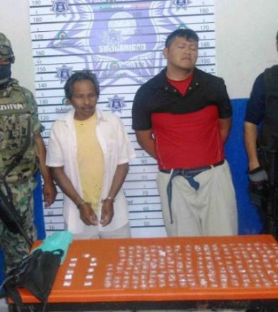 Capturan a 2 narcomenudistas en Playa con más de 200 dosis de 'crack' y cocaína
