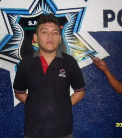 Capturan en Villas Otoch a un joven de 18 años por descuartizar a otra mujer; segundo caso en una semana en Cancún; el motivo: le pretendió cobrar una deuda de $1,500