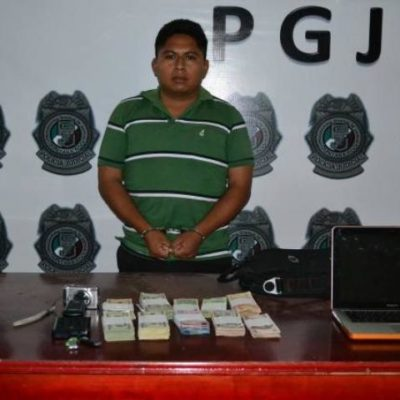 Capturan a ex guardia de seguridad que robó $420 mil del Club de Golf Riviera Cancún