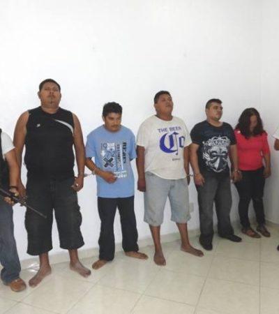 Aún no decide juez situación legal de 5 'Pelones' involucrados en doble ejecución en Cozumel
