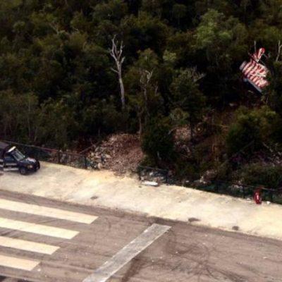 Maniobra 'extrema' o error humano, posibles causas del accidente de avioneta en Cozumel, anticipan; falta peritaje oficial