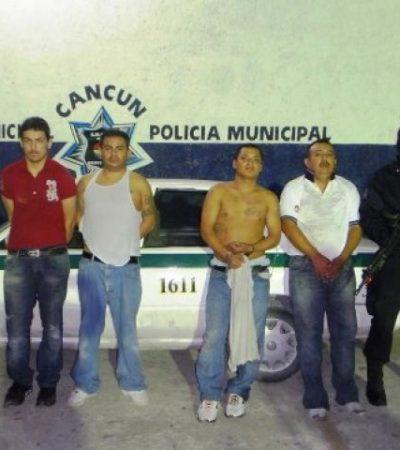 Consignan sólo un expediente por homicidio en caso de 4 sicarios detenidos por secuestro