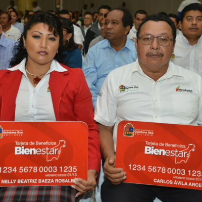 Sigue Borge en campaña: presentan 'tarjeta del bienestar' para la burocracia en QR