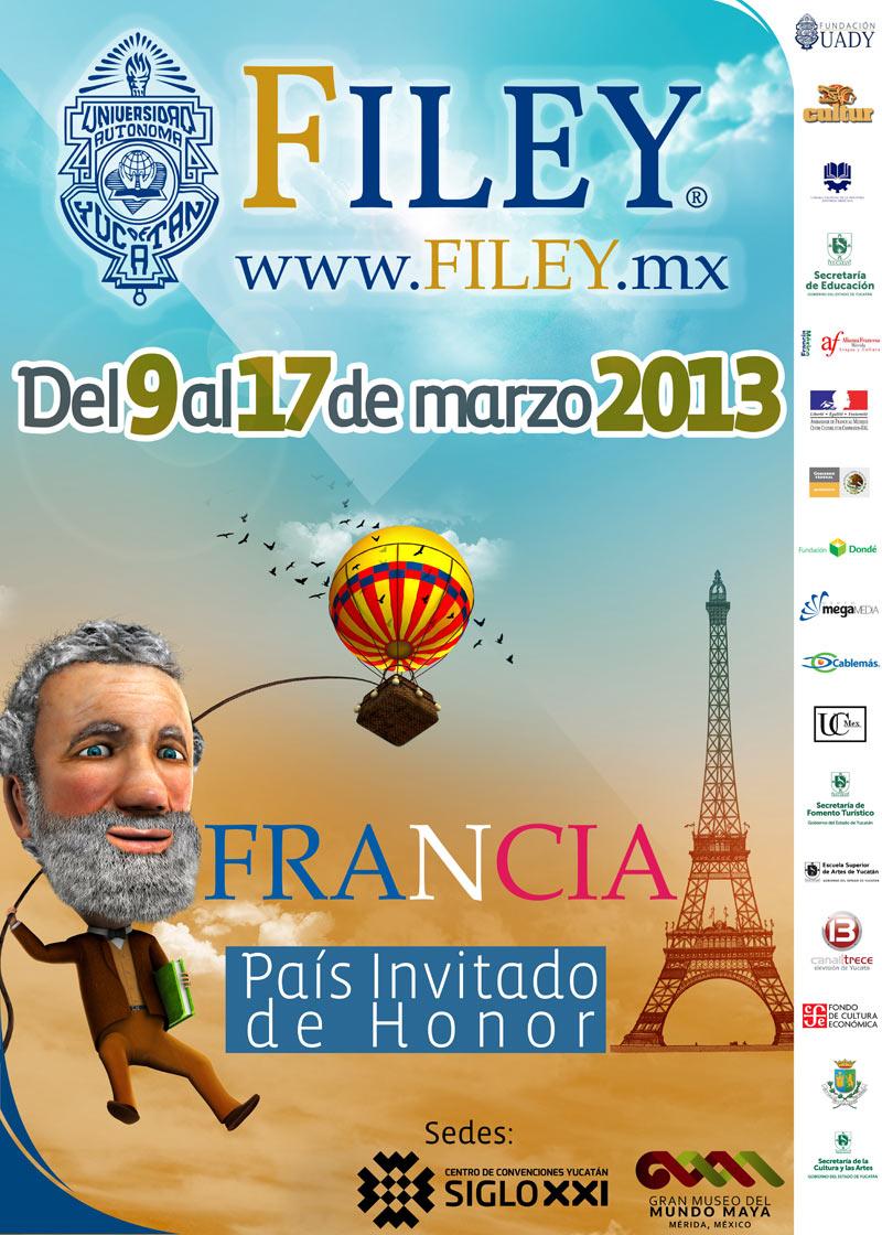 Anuncian la segunda Feria Internacional de la Lectura Yucatán 2013