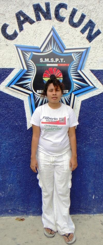 LAS MUJERES TAMBIÉN PEGAN: Por violencia familiar, detienen a una joven por tundirse a su ex novio en Cancún