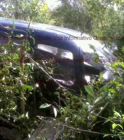NUEVO ACCIDENTE AÉREO EN COZUMEL: Falla en aterrizaje en el Aeródromo 'Eduardo Toledo' termina sólo en un susto para tripulantes