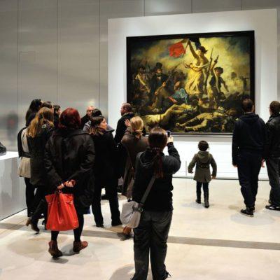 Reportan acto de vandalismo en pintura de Delacroix 'La libertad guiando al pueblo'