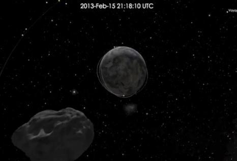 Con 130 mil toneladas de peso, pasa y se aleja el asteroide que más se ha aproximado a la tierra