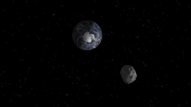 El asteroide 2012 DA14 que ayer se aproximó a la Tierra, podría chocar con el planeta en el 2080