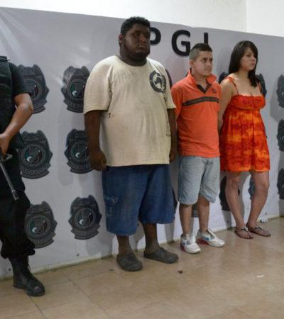 CAPTURAN A 3 PRESUNTOS 'ZETAS': Vinculan a uno con 5 ejecuciones y un secuestro en Cancún