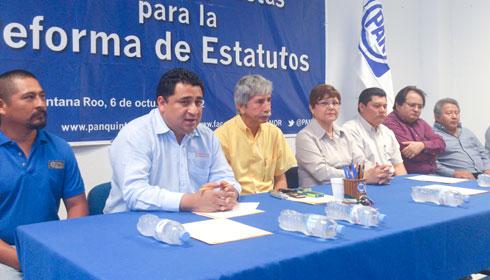 Inician PAN y PRD los trabajos de la coalición en Chetumal