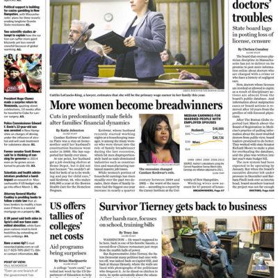 CRISIS EN LA PRENSA: Anuncia NYT que venderá The Boston Globe