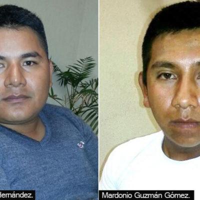 Buscan en Yucatán a comandante policiaco implicado en violación de italiana en Playa del Carmen; presentan a 2 agentes cómplices