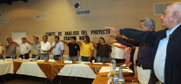 Instala Alcalde comité de análisis del proyecto 'Dragon Mart'