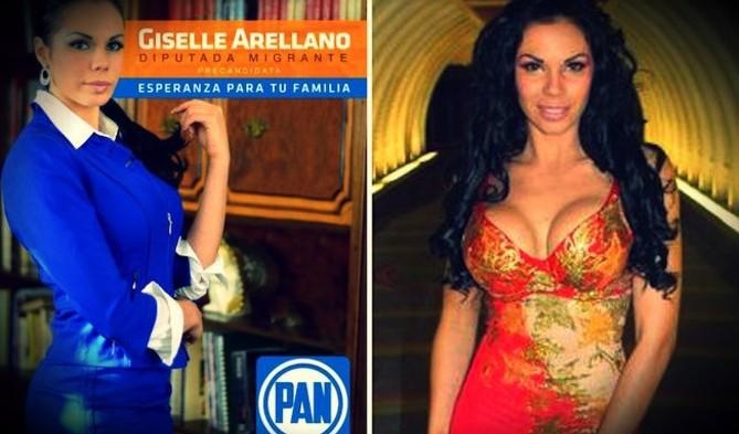 Sale PAN en defensa de Giselle Arellano por candidatura a diputada