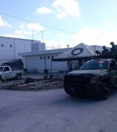 Se registra intento de motín en la cárcel de Cozumel; se retomó el control, reportan autoridades