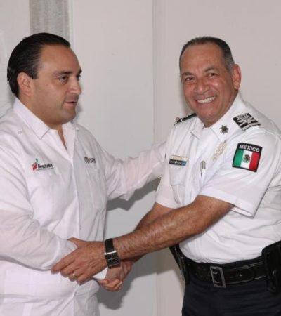 Designan nuevo comisionado de la Policía Federal en QR a Héctor González Valdepeña, quien desempeñó el mismo puesto en Guerrero durante los 2 últimos años