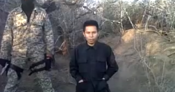 """Suben a Youtube video donde se ejecuta a presunto colaborador de página de Facebook """"Valor por Tamaulipas"""""""