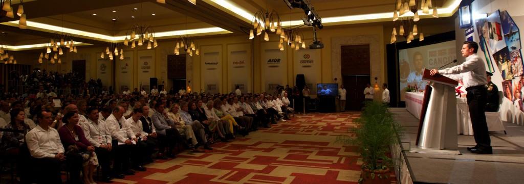 FORO NACIONAL DE TURISMO: Anuncia Peña en Cancún inversión por 100 mil mdp para impulsar el turismo