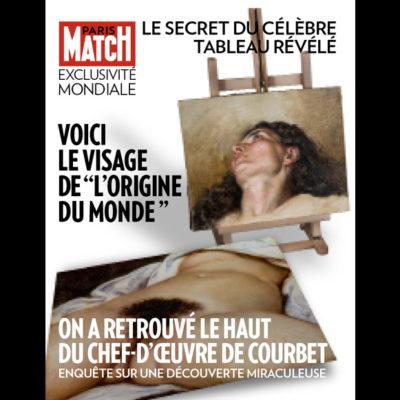 'El Origen del Mundo', de Courbet, tenía un rostro