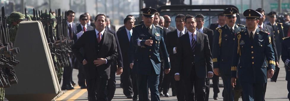 EJÉRCITO CENTENARIO: Ofrece Peña mejorar nivel de vida, prestaciones sociales y equipamiento a las Fuerzas Armadas