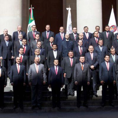 Avala Conago mando único policial y apoya Pacto por México