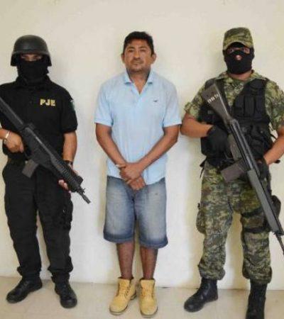 Detienen a presunto extorsionador de los 'Zetas' en Playa