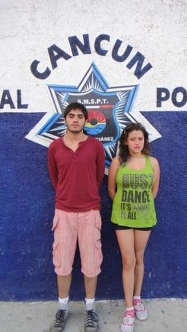 Denuncian a pareja por violencia intrafamiliar y los detienen por tener una planta de marihuana