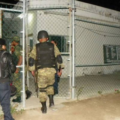 Catean en la madrugada la cárcel de Cozumel