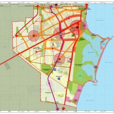 Plantean nueva urbanización para Cancún con un Centro Metropolitano y cambios de uso de suelo drásticos