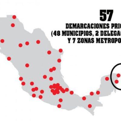 Es confusa la estrategia de seguridad de Peña para Quintana Roo: hay contradicción en apoyos para Chetumal
