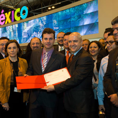 Gana México premio al mejor stand en la Fitur de Madrid