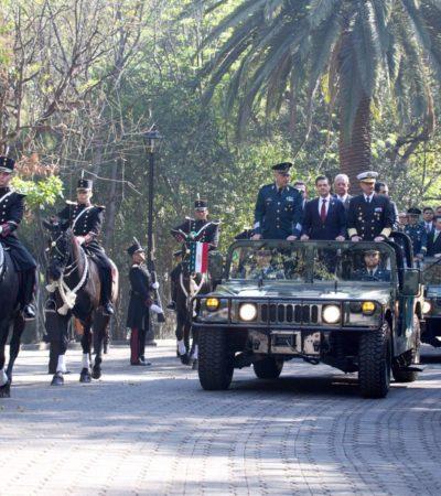 Celebran 100 años de la Marcha de la Lealtad… y le toca a Peña Nieto pasar lista a las Fuerzas Armadas