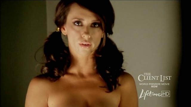 Promociona Jennifer Love Hewitt 'The Client List' con candente video