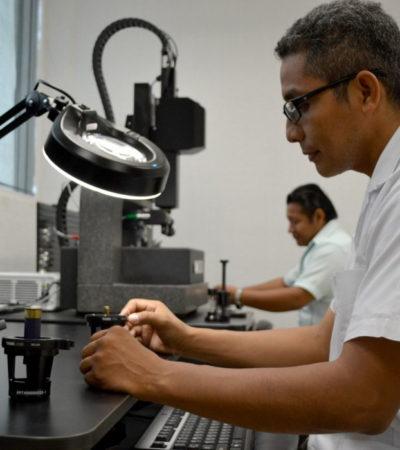 Inauguran Laboratorio de Balística en Cancún: cuesta 14 mdp