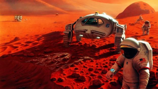 ¿CIENCIA FICCIÓN?: Planean primer viaje de humanos a Marte a partir del 2018