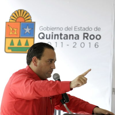 Con su investidura de Gobernador, arremete Borge contra PRD